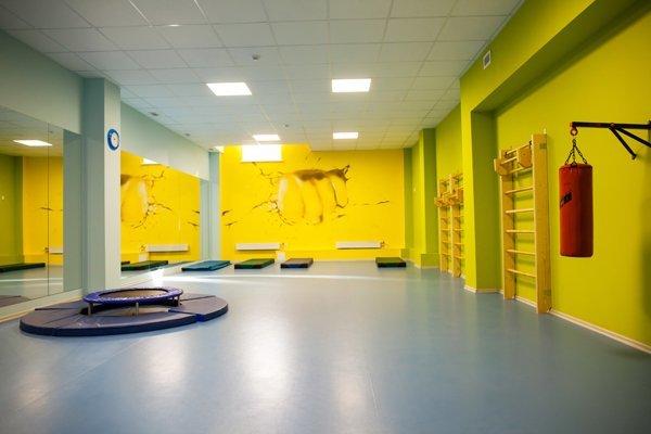 Оформление и дизайн спортивных залов